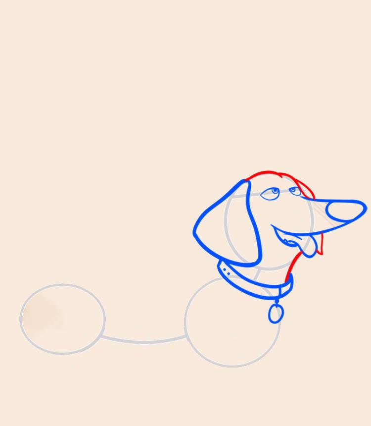 Рисуем таксу своими руками - это просто Бадди